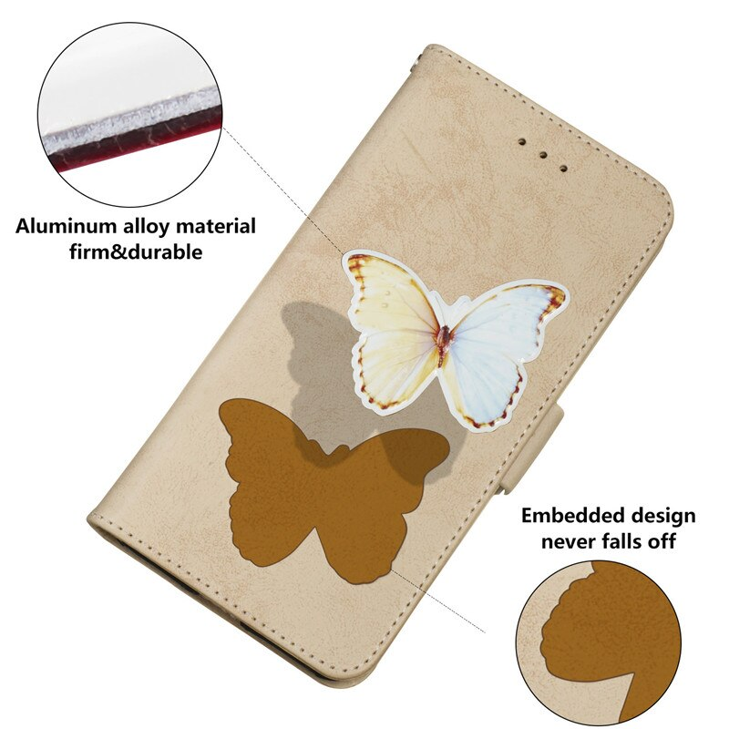 Wekays For Coque Huawei Y5 2018 Honor 7S Cartoon Butterfly Leather Funda Case For Huawei Y6 2018 Honor 7A Cover Case Shell Y5 Y6