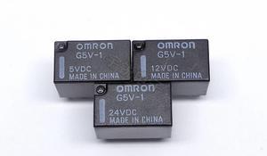10pcs/lot  G5V-1-5VDC   G5V-1-12VDC  G5V-1-24VDC   3V  9V   1A 6Pin