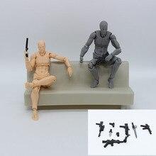 Figurine daction en PVC dessin animé Figma mobile jouet poupée à collectionner 14 cm Mannequin Art croquis dessiner poupées du corps humain