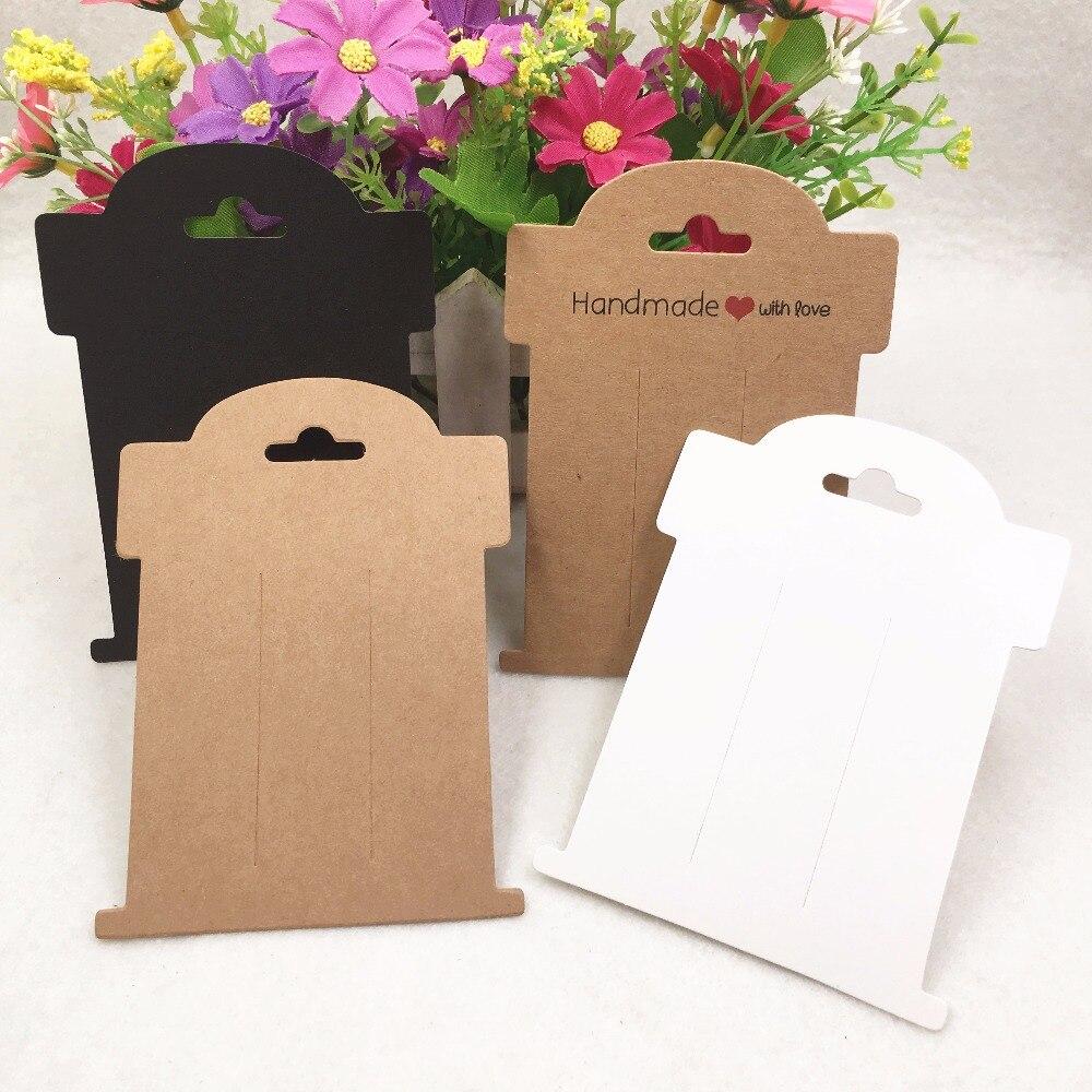 100 pcs 11x8 cm Hairpin cartões + 100 pcs OPP Sacos de Jóias Em Branco Cartões de cartão de grampo de cabelo de jóias cartão de exibição, se logotipo personalizado será extr