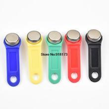 Clé de mémoire tactile RFID réinscriptible 5 pièces/lot, RW1990 iButton, carte de copie, clé de Sauna