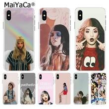 MaiYaCa Melanie Martinez Pleurnichard 2018 kolorowy futerał na telefon do Apple iPhone 11 pro max 8 7 6 6S Plus X XS max 5 5S SE XR Case