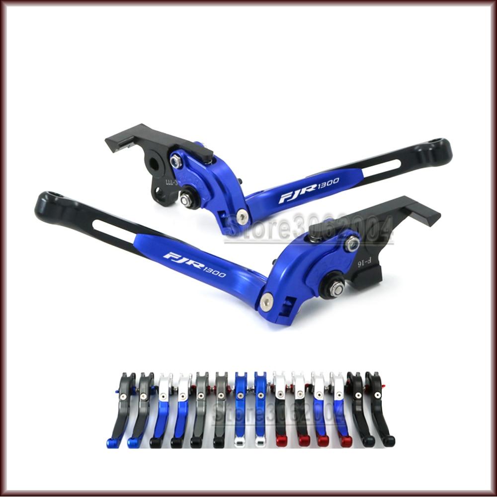 Para YAMAHA FJR1300 FJR 1300 2004-2013 2012 2011 accesorios de motocicleta plegable extensible ajustable frenos embrague palanca CNC