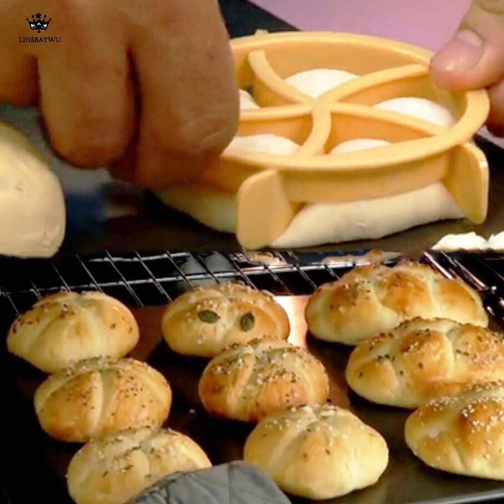 Пластиковый нож для выпечки, пресс для рубки теста, печенья, домашний хлеб, рулоны, штампы, форма для выпечки, десерт-выпечка, инструменты для печенья, резак