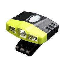 5W LED Body Motion Sensor Headlamp XPE COB Mini Headlight USB Rechargeable Outdoor Camping Flashlight Head Torch Lamp
