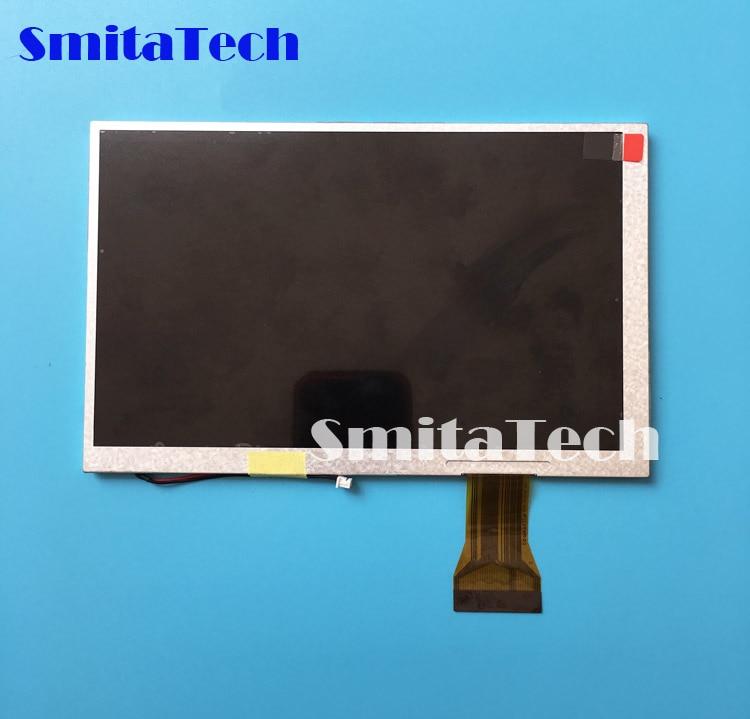 Tela LCD de 7.0 polegada A070VW05 V2 visor do painel de navegação GPS DVD