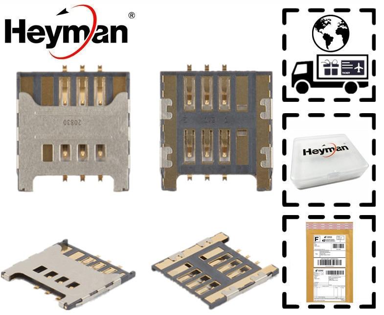 Heyman cable FLEX para Samsung E3210 I5510 I9000 I9001 I9220 N7000/7005 Galaxy S Plus nota S3350/3850 Corby II conector tarjeta SIM