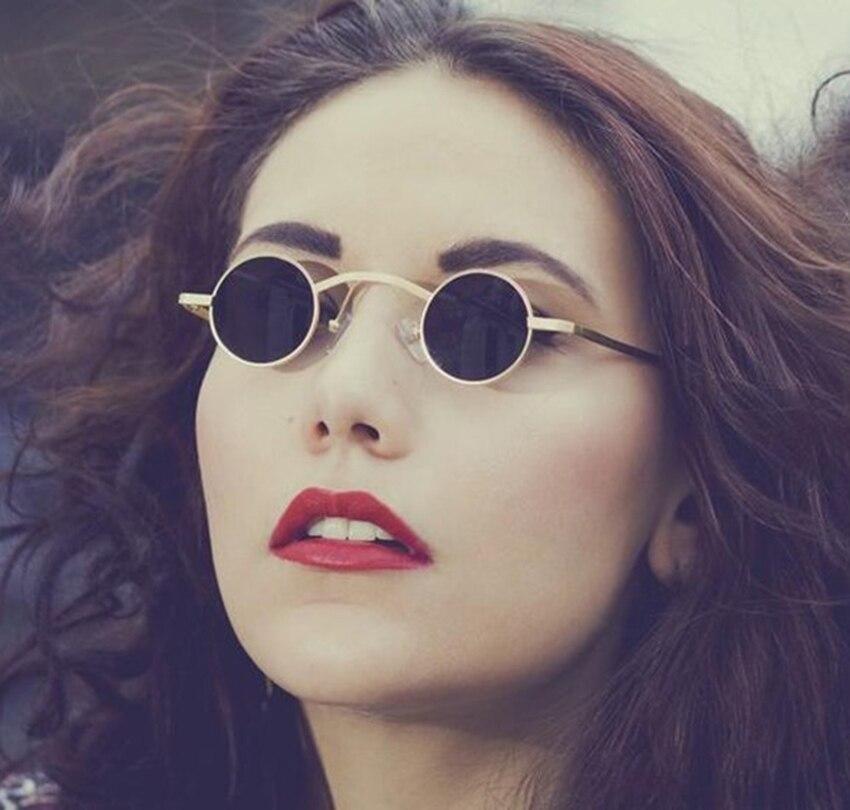Солнцезащитные очки JackJad, винтажные маленькие круглые очки в стиле стимпанк, в стиле ретро, 2019