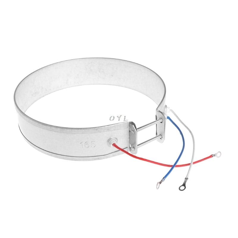 Calentador de banda delgada de 170mm elemento 220V 750W para electrodomésticos