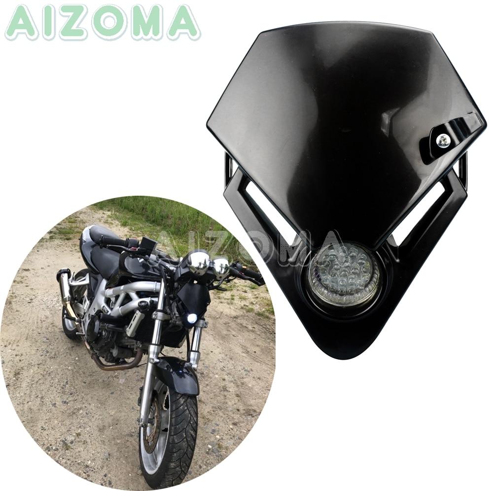 Двойная Спортивная мотоциклетная светодиодная фара, пробная фара, версия enduro для Kawasaki Yamaha Suzuki KTM Honda Gas TXT Pro EC 125 250
