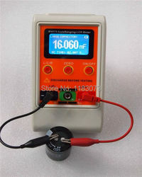 Autoranging lcr ponte medidor lcd recarregável digital capacitância indutância medidor grande range100h 100mf 20mr m4070 freeshipping