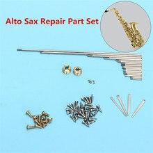 Alto Sax pièce de réparation ensemble pièces de vis + Saxophone ressorts Instruments à vent de bois professionnel Luthier pièces doutils pour Saxophone Saxophone