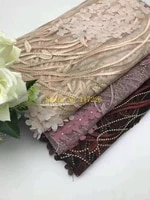 high quality african lace fabric hot african embroidered lace fabric jrb 81940 for sewing nigeria lace fabric 5yards