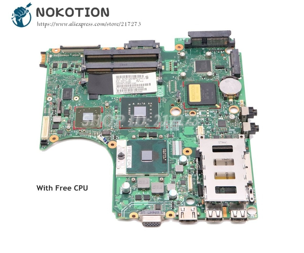 NOKOTION 583077-001 для ноутбука HP Probook 4510S 4710S 4411S материнская плата PM45 DDR3 ATI graphics Free CPU