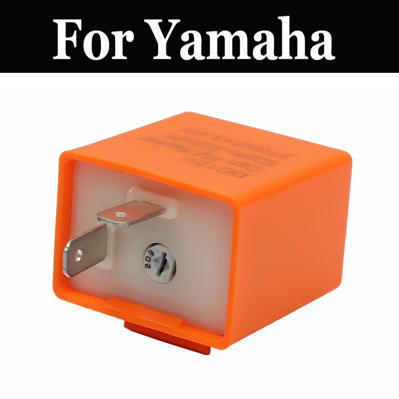 Relé de led para motocicleta, frequência ajustável de led, 12v, relé para yamaha xp 500 tmax abs xt 200 250 250t 500 600 660