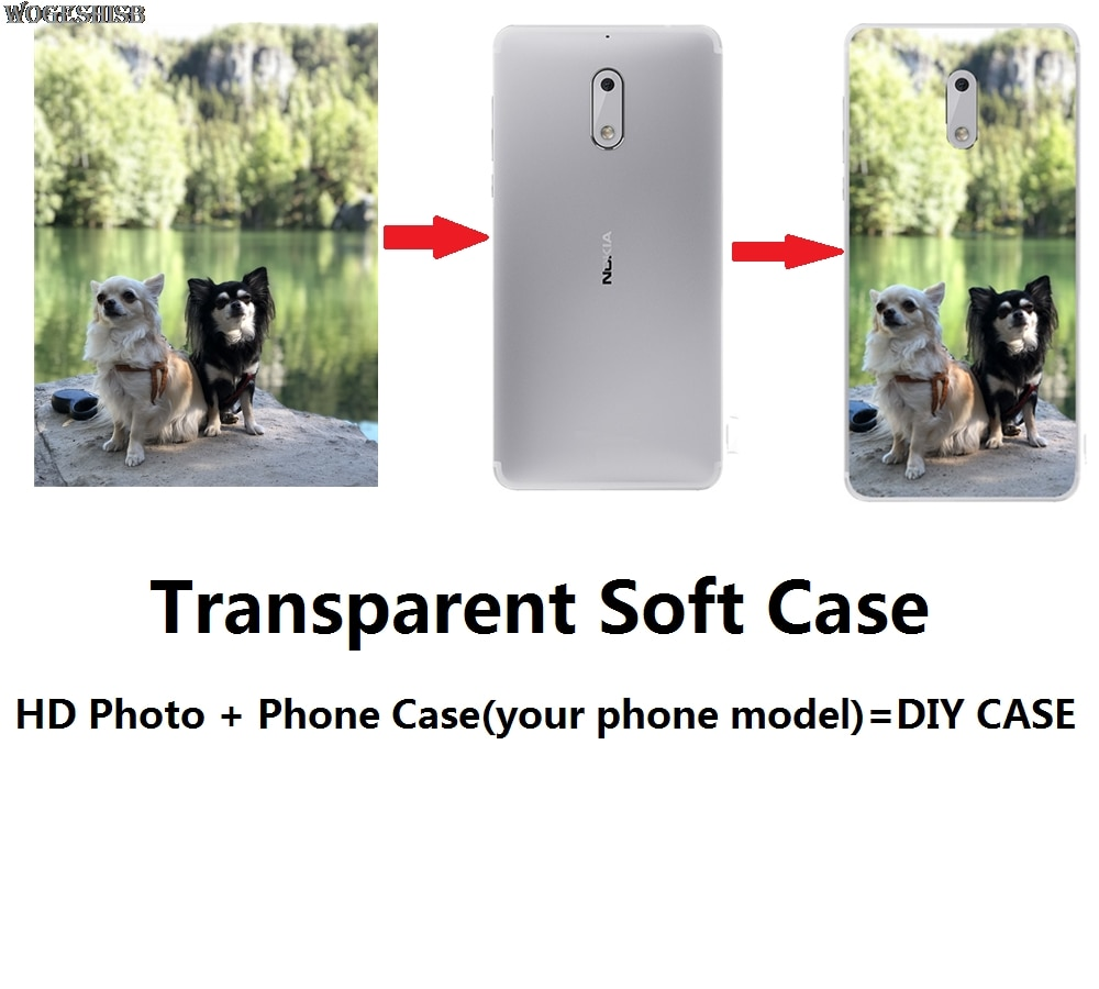 Custom Logo Photo Soft Case For Nokia 1 2 3 5 6 7 8 9 2.1 3.1 5.1 4.2 5.1 6.1 7.1 Plus View X5 X6 X7 Sirocco Customized Cover