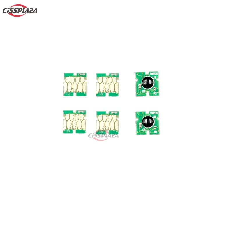 CISSPLAZA 1pc Chips de un solo uso para el cartucho de tinta T372 para Epson foto Mate PM-520 pm520 pm 520 chip de impresora