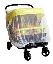 Cochecito de bebé recién nacido Anti-Mosquito cochecito Protector carrito de la silla de paseo red de protección contra insectos coche gemelo cochecito Fly Midge Bug Cover