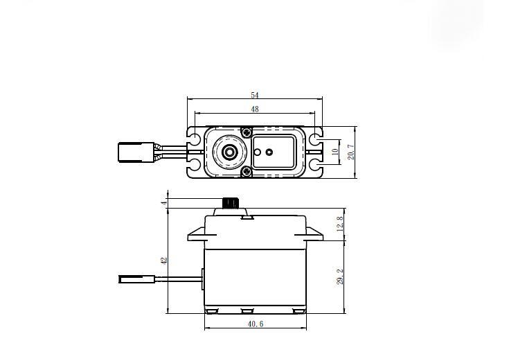 Savox SW-1210SG Waterproof Coreless Steel Gear 7.4v 0.13s 23kg Digital Servo 1/10 1/8 Buggy Monster truck Crawler Scale Truggy enlarge