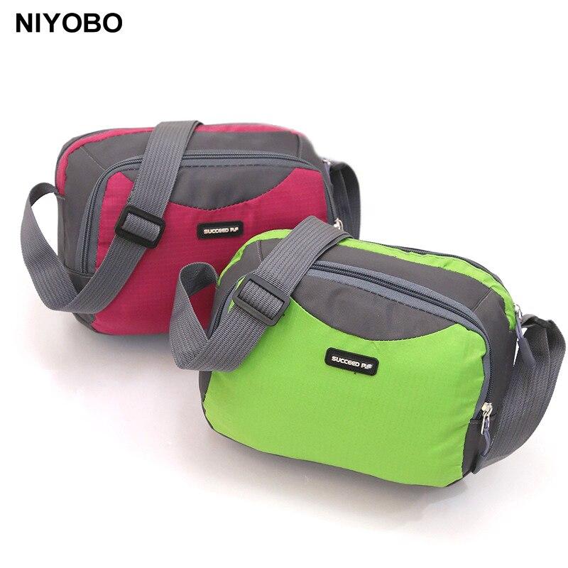 NIYOBO Frauen Messenger Taschen Wasserdichte Nylon Kleine Schulter Tasche Weibliche Reise Umhängetaschen Bolsa PT1272