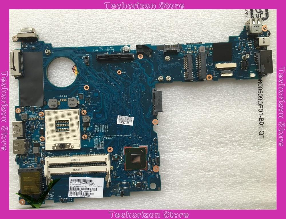 Материнская плата 651358-001 для ноутбука Hp Elitebook 2560P QM67 DDR3 Протестирована