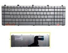 SSEA NEW US Keyboard For ASUS N55 N55S N55SF N55SL  SILVER keyboard