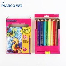 24/36 adet renkli kalemler renkli kurşun kalem ahşap renkli kalem Basswood çizim kalemler ofis okul malzemeleri su renkli kurşun kalem s