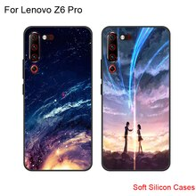Casing For Lenovo Z6 z6 Pro Silicone Soft Shell Back Cover For Lenovo Z 6 Pro Starry Patterned Phone Cases LenovoZ6 Pro Coque