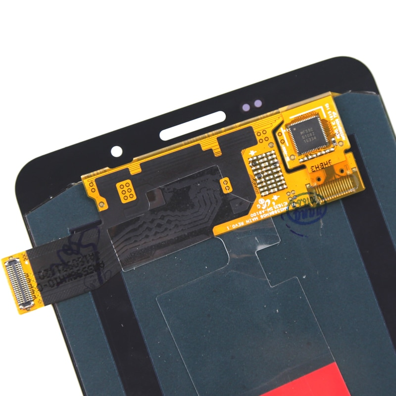 Grade LCD Display For A9 2016 A910 LCD Super AMOLED With Digitizer Touch Assembly 6 Inch For A9 2016 A910 Screen enlarge