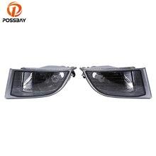 POSSBAY auto Clear Lens Fog Light Headlight assembly Housing car Side Replacement for Toyota Land Cruiser Prado(J120) 2002-2009