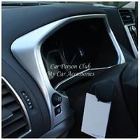 For Toyota Land Cruiser Prado FJ150 2018 Central Console Tachometer Fuel tank Dashboard Cover Trims Inner ABS Car Accessories