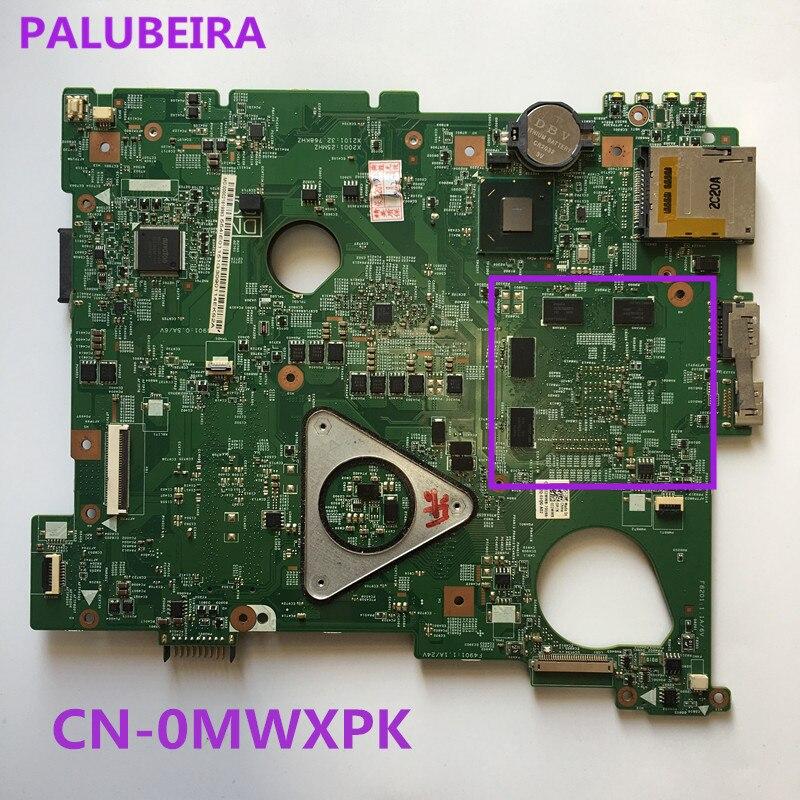 PALUBEIRA portátil placa base para Dell inspiron 15 N5110 placa principal HM67 DDR3 GT525M 1GB CN-0MWXPK 0MWXPK placa principal