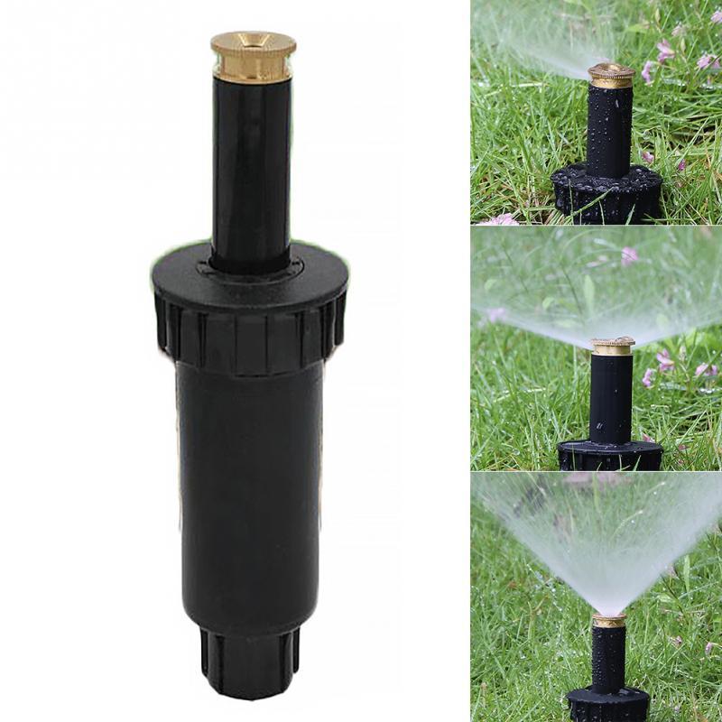 1PC 90/180/360 grado Pop rociadores de césped cabeza de riego ajustable boquilla de spray para el jardín hilo femenino