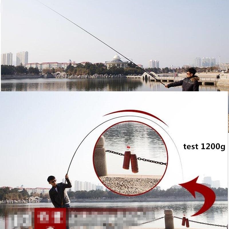 High carbon short section pole fishing rod 3positioning stream handcuffs ultra light hard 28tune fishing pole vara de pesca enlarge