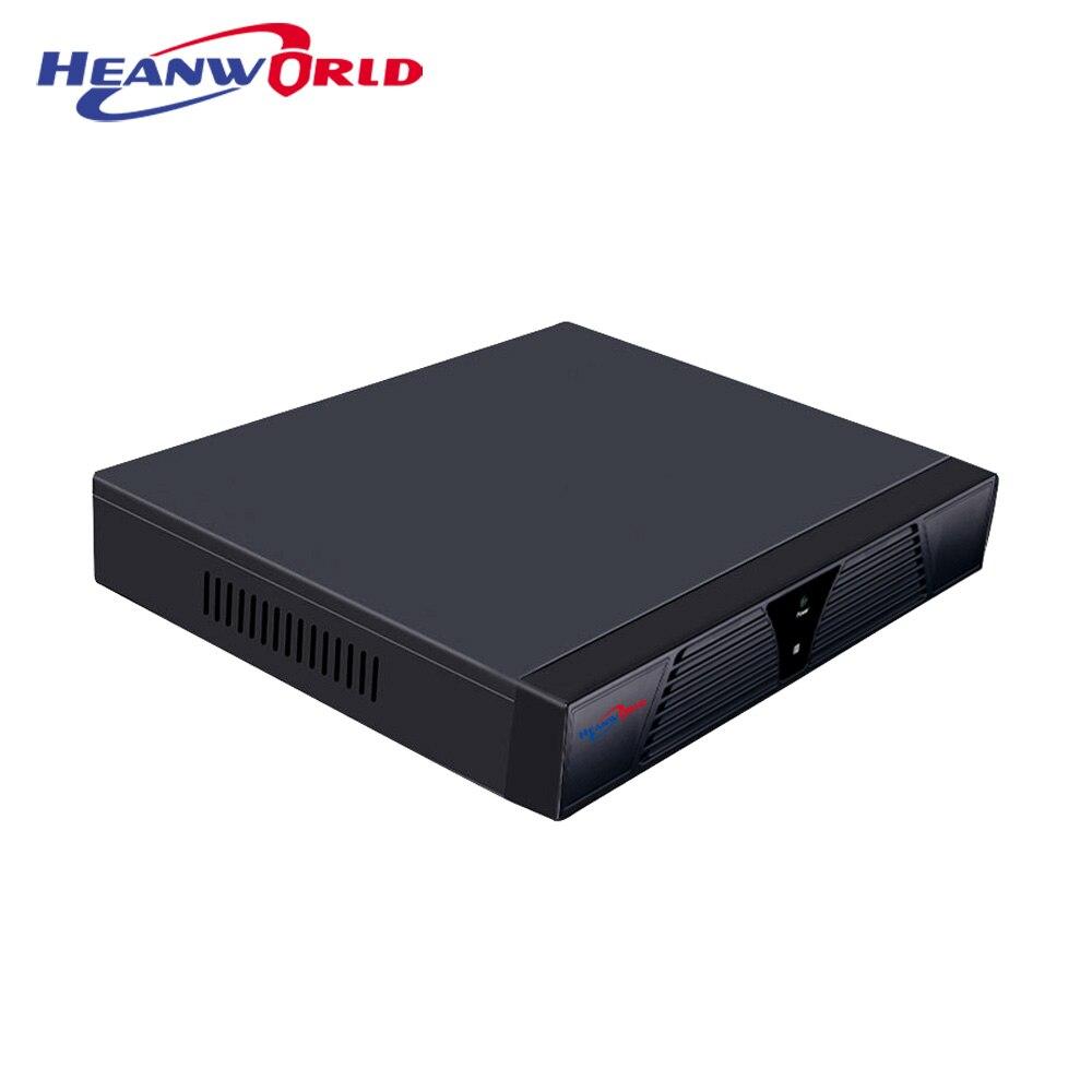 Heanworld super hd nvr 16ch 5.0 mp network video recorder 16 channel p2p cloud h.265+ onvif cctv record system VGA HDMI