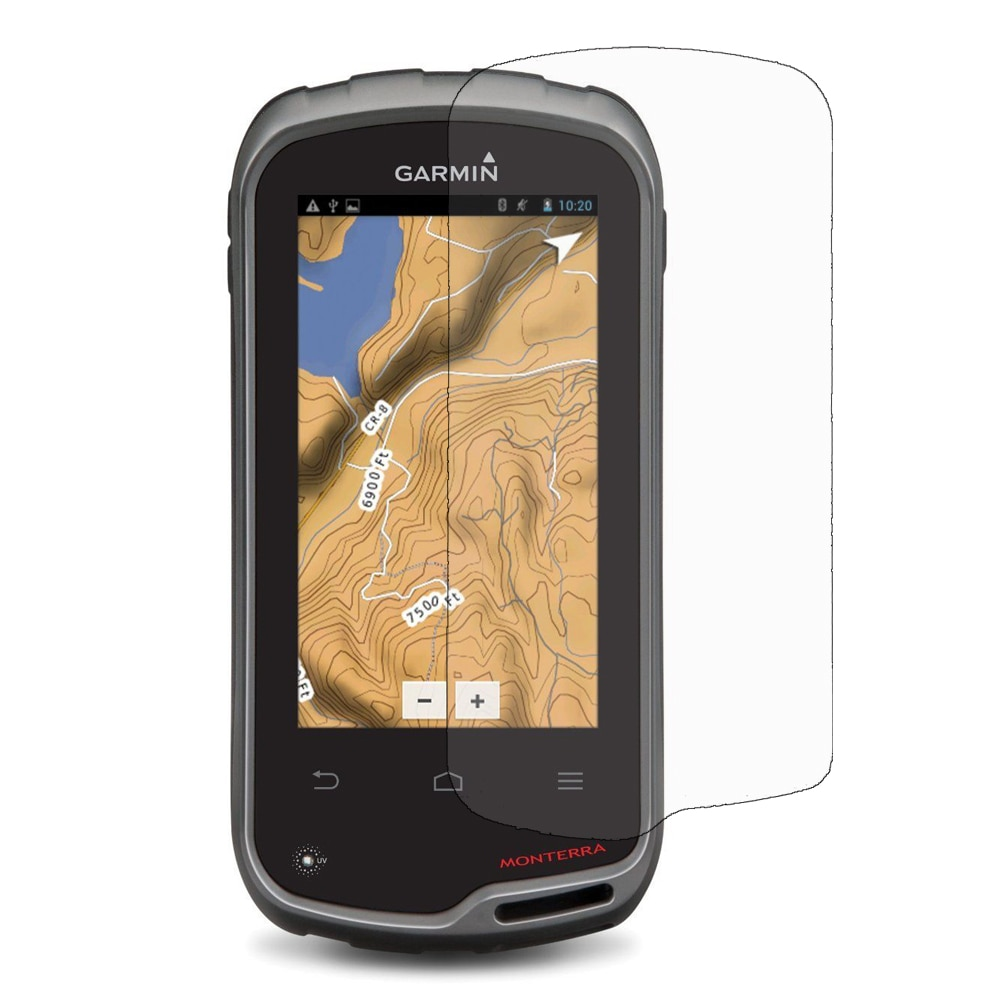 3x LCD Screen Protector Film for Handheld Garmin Monterra TOPO GPS