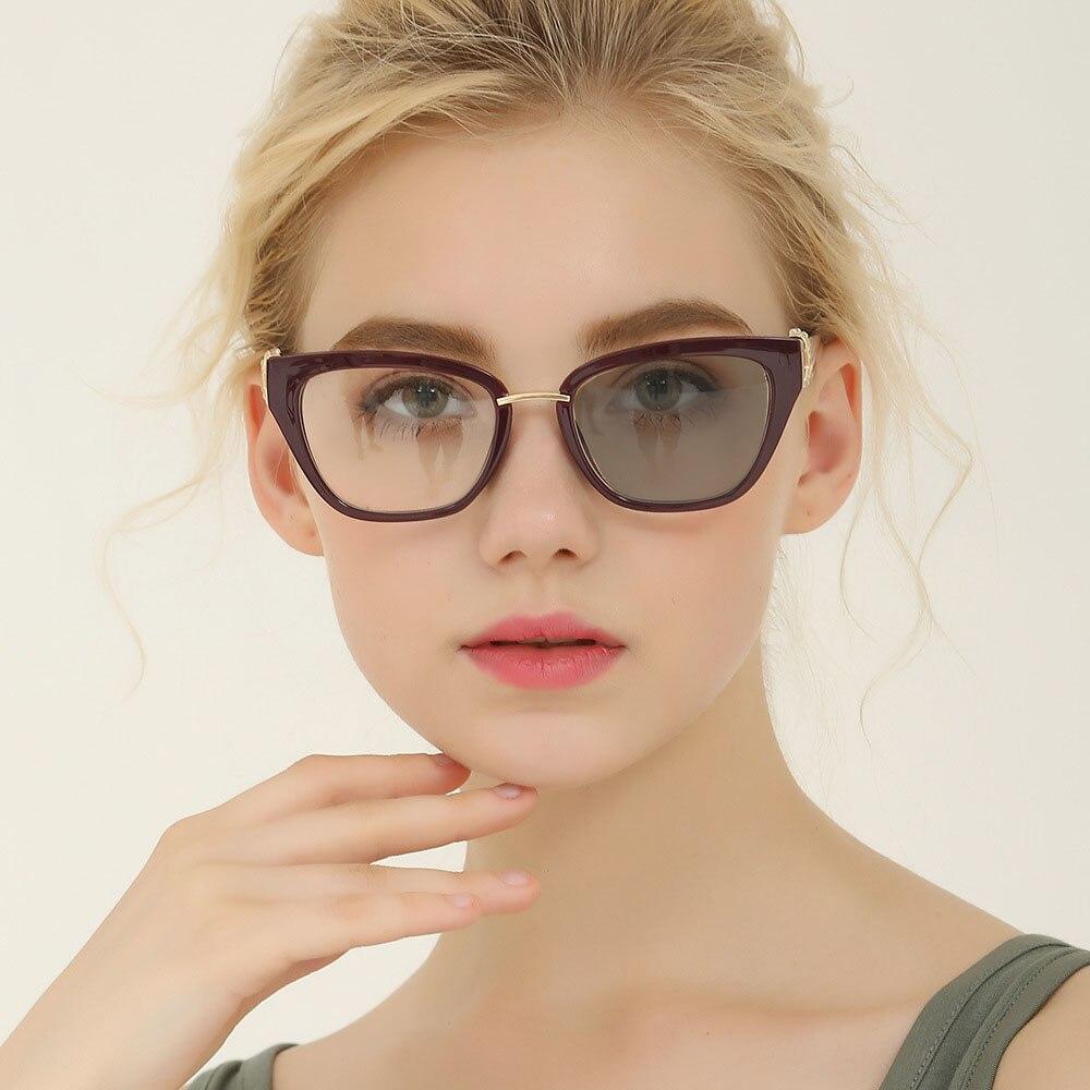 Винтажные фотохромные очки для чтения, для мужчин и женщин, с регулируемым зрением и мультифокальным диоптрием, прогрессивные очки NX