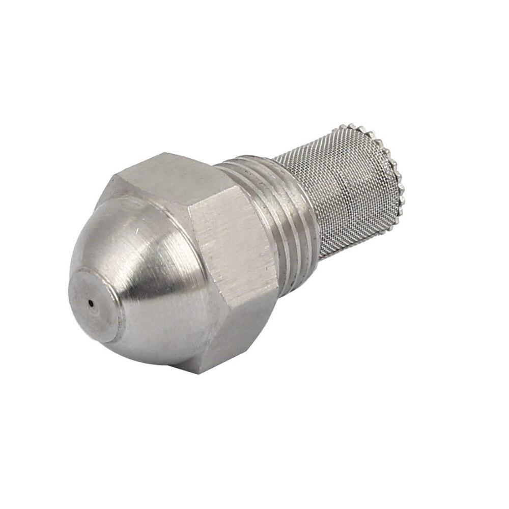 Nueva llegada 12,8mm/1/4BSP 0,6mm orificio Spray Dia 304 Acero inoxidable atomizador fino boquilla de niebla