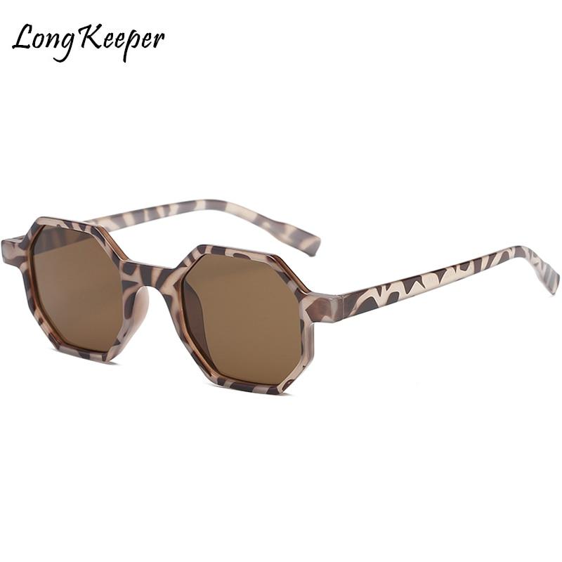 ¡Novedad de 2018! Gafas de sol hexagonales de manga larga para mujer, gafas de sol poligonales de estilo moderno para hombre, gafas Unisex