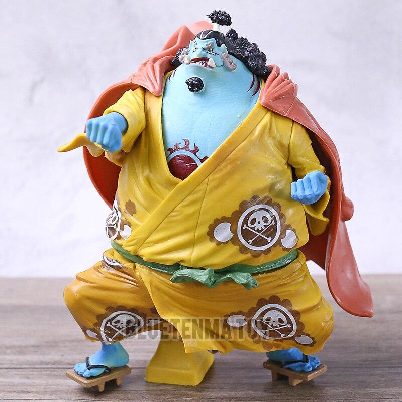 Una pieza estatua KOA rey de artista la Jinbe Jimbei de acción   PVC figuras de acción juguete de modelos coleccionables