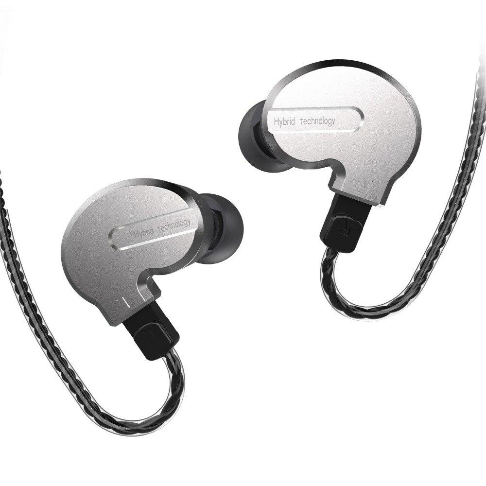 BQEYZ KB1 1BA + 2DD hybride lecteur métal dans loreille écouteur HIFI DJ Monito course Sport écouteur bouchon doreille casque 2Pin détachable