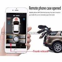PKE умный ключ, смартфон, автомобильная система сигнализации, совместимая с телефонами ios и android, автомобильная система запуска и остановки ...