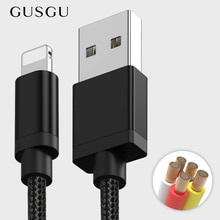 USB Cable for iPhone XS Max, GUSGU Date Cable for lightning for iPhone X XR 8 7 6 6S Plus SE Chargin