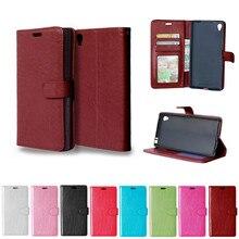 Flip Fall für Sony Xperia Z5 Premium Z 5 Dual E6833 E6883 E6853 Fall Telefon Leder Abdeckung für Sony Z5P z5Premium E 6833 6883 6853
