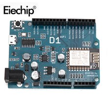 ESP8266 pour arduino uno wifi bouclier électronique intelligente ESP-12E D1 WiFi uno basé ESP8266 bouclier pour arduino UNO R3 Micro IDE