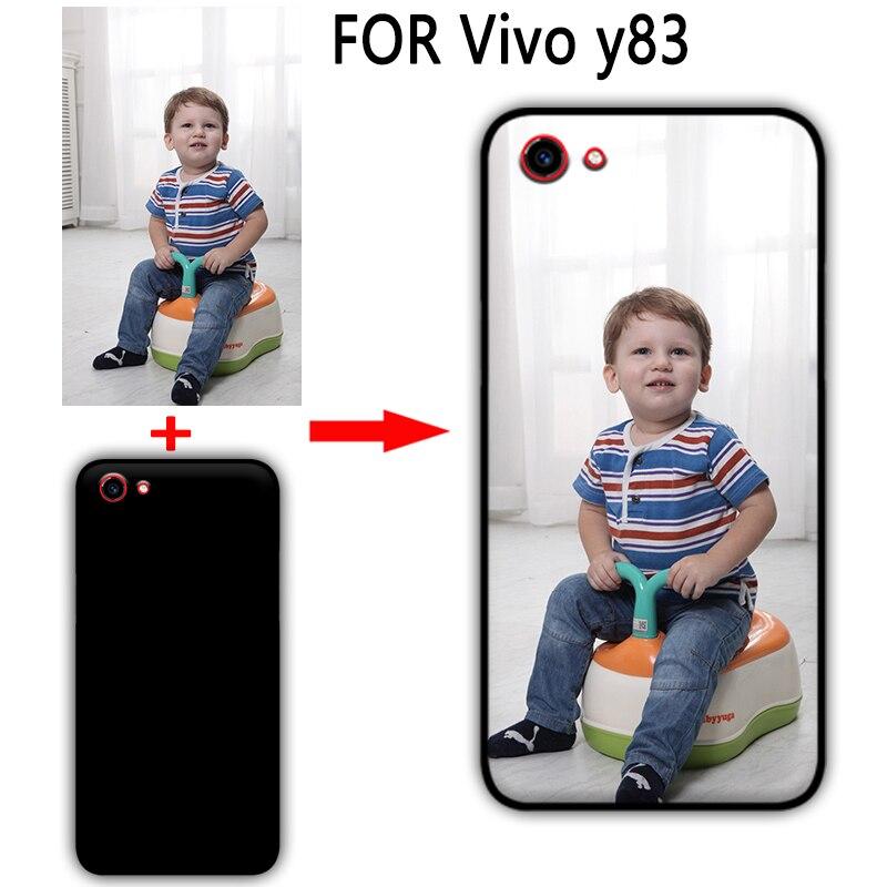Mosirui personalizada DIY caso Vivo y83 HD UV impresión de la cubierta suave de TPU de silicona para oppo F7 caso