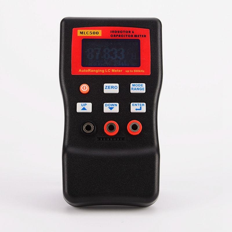 Горячая продажа Высокая точность электронная емкость цифровой мост LC метр MLC500 ручной индуктивность метр 1% точность 500 кГц тест