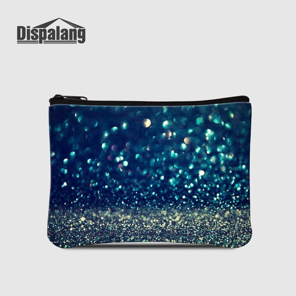 Dispalang, producto en oferta, Mini carteras de mujer baratas, universo, espacio, mujeres, pequeñas bolsas de mano, Galaxy Stars, monedero, monedero, portatarjetas para chicas