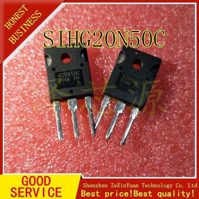 10 шт./лот G20N50C SIHG20N50C TO-247