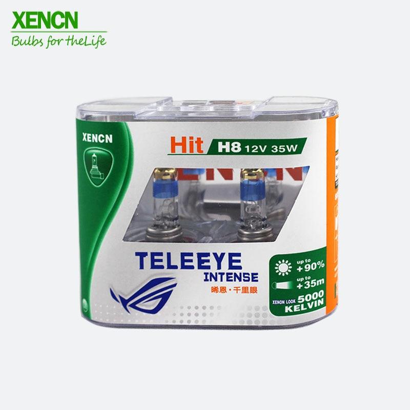 XENCN H8 12V 35W PGJ19-1 Teleeye, luz intensa, Luz antiniebla para coche, luz halógena UV para filtro, lámpara automática, envío gratis, 2 uds.